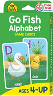 Amazon Better Letter ALPHABET GO FISH Card Game Includes