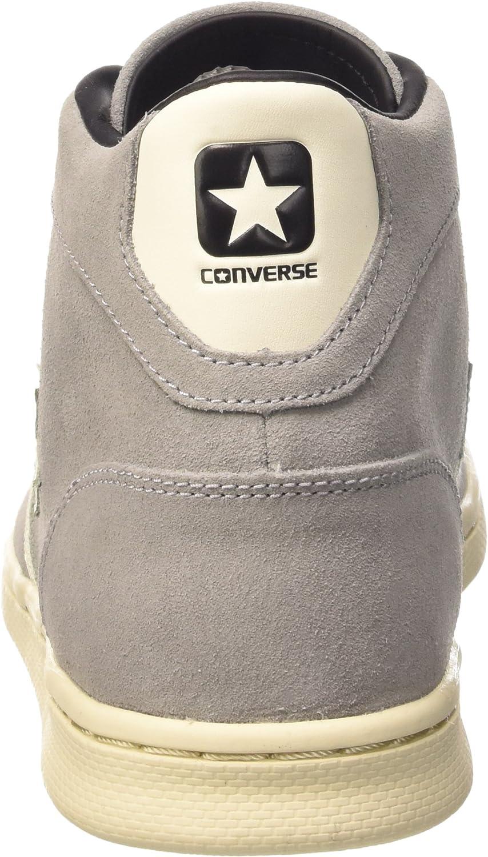 Converse Pro Leather LP Mid Suede , Homme, Gris (Grey