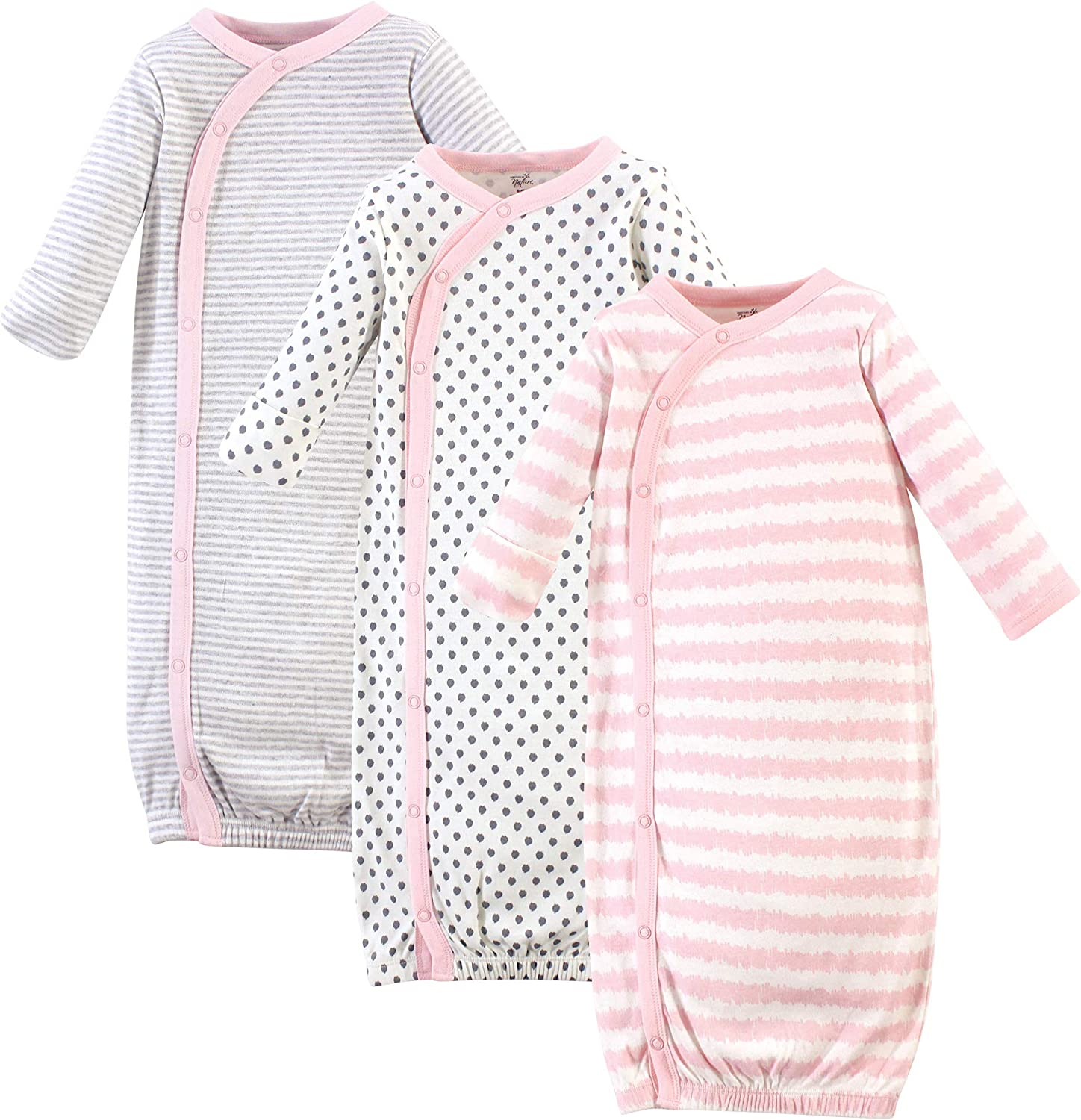Touched by Nature Baby Organic Cotton Kimono Gowns