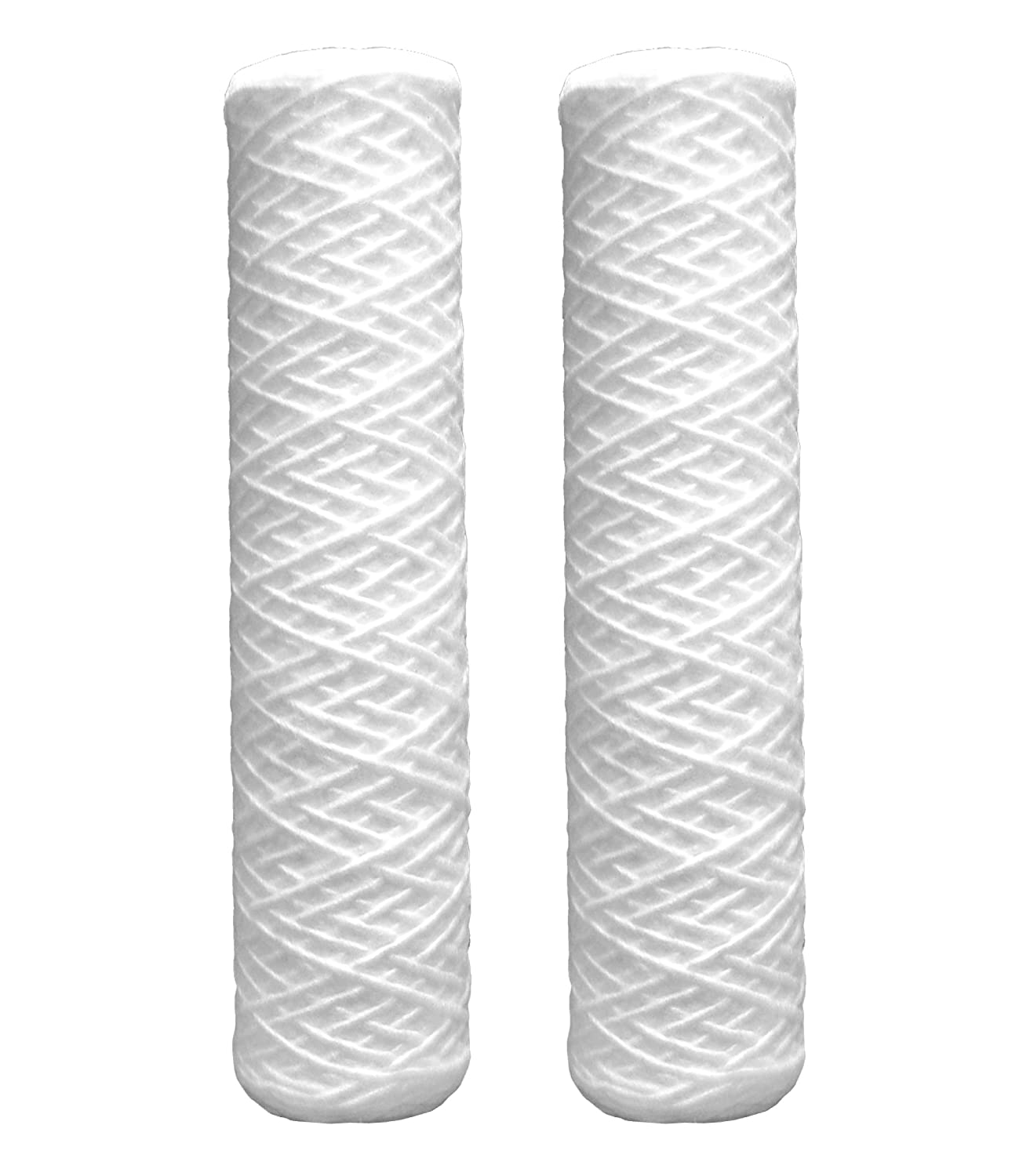 DuPont WFPFC4002 Universal Whole House String Wound Filter, 2-Pack