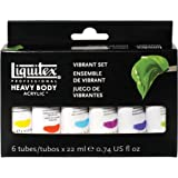 Liquitex Professional Heavy Body Acrylic 6-Pack - Vibrant Set