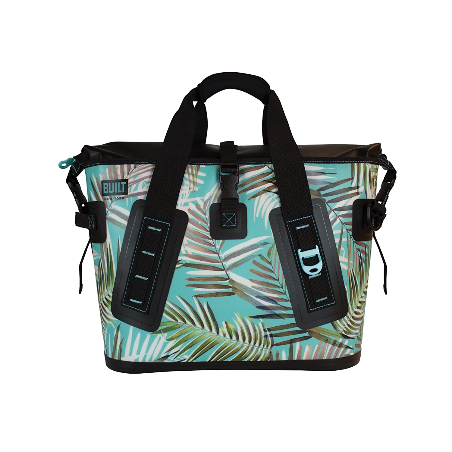 Pewter Lily Gray Insulated and Leak-Proof Large BUILT 5238361 Welded Soft Portable Cooler with Wide Mouth Opening