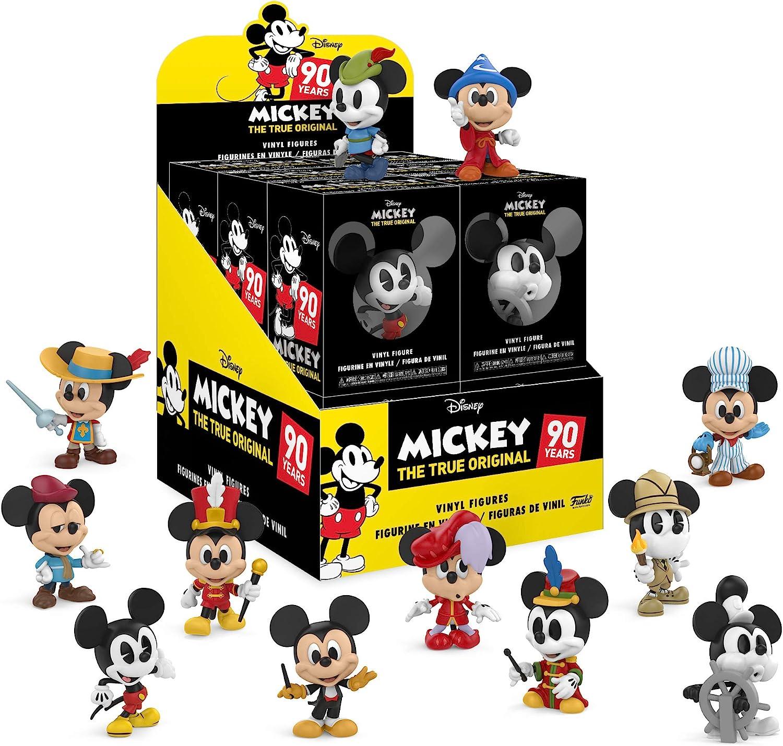Funko Figura Mystery Mini Blind Box Disney Mickeys 90th Anniversary (25595) , color/modelo surtido: Amazon.es: Juguetes y juegos