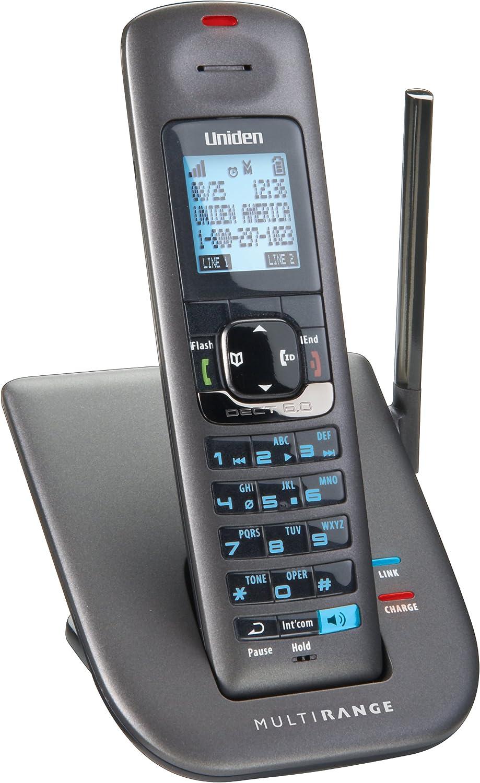 Uniden drx402 Auricular inalámbrico 2 líneas de teléfono Accesorios/Multi-Range Sistema de Soporte de Carga Compatible con la Serie DECT4000 teléfono: Amazon.es: Electrónica
