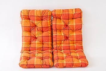 50 90640 Lot Ambient À Maxi 2 Home Orange 8 Cm X De 120 Carreaux Coussins Hanko WY9E2IDH