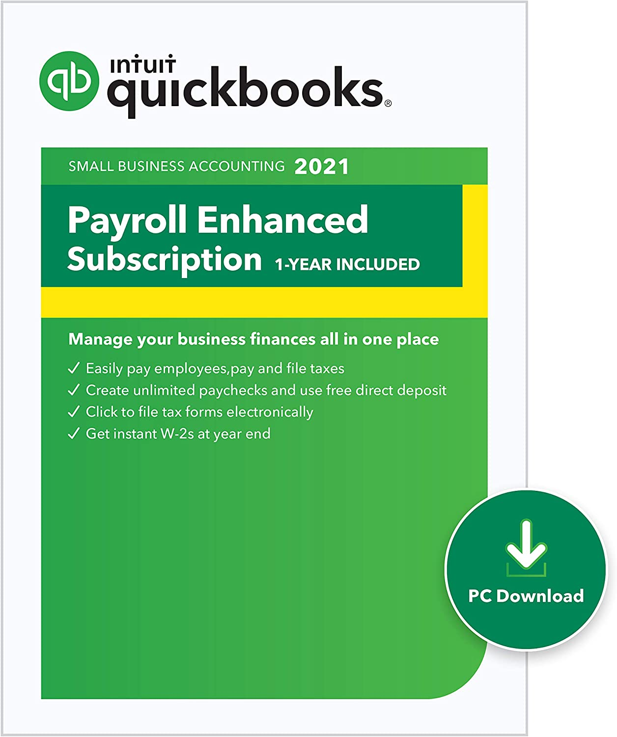 QuickBooks Desktop Enhanced Payroll 2021 Discount Coupon Code