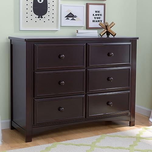 Delta Children Unisex Nursery 6 Drawer Double Dresser