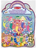 Melissa & Doug 19413 Mermaids Puffy Sticker Activity Book with 65 Reusable Stickers, Standalone