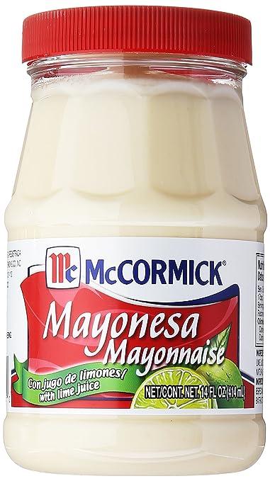Mayonnaise: McCormick Mayonnesa