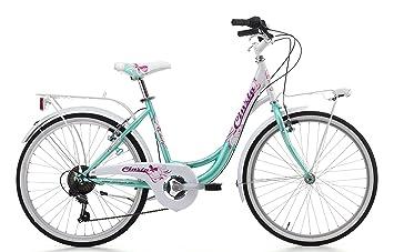 Cicli Cinzia - Bicicleta Liberty de niña, cuadro de acero, dos tallas