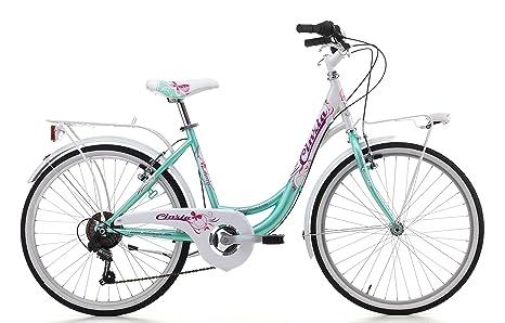Cicli Cinzia Bicicletta Liberty Da Bambina Telaio In Acciaio Due Taglie Disponibili