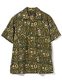 Beams Plus Block Print Short Sleeve Camp Shirt 11-01-1075-139