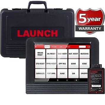 LAUNCH X431 V PRO Bi-Directional Scan Tool Full System Scanner,Key  Programming,Reset Functions ABS Bleeding,TPMS,EPB,SAS,DPF,BMS,ECU  Coding,Injector