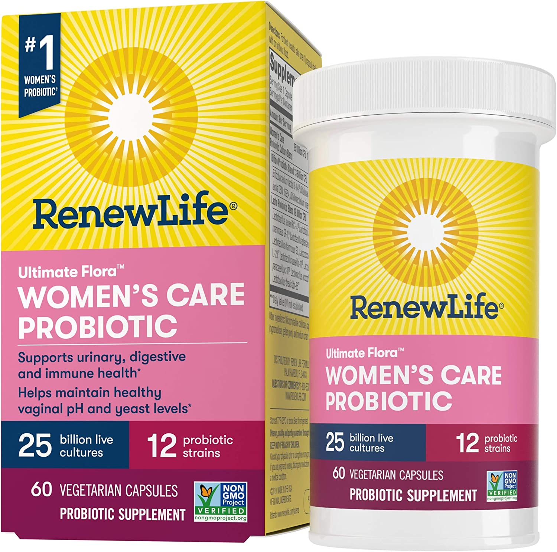 Renew Life 12 Strains 25 Billion Women's Probiotics $20.38 Coupon