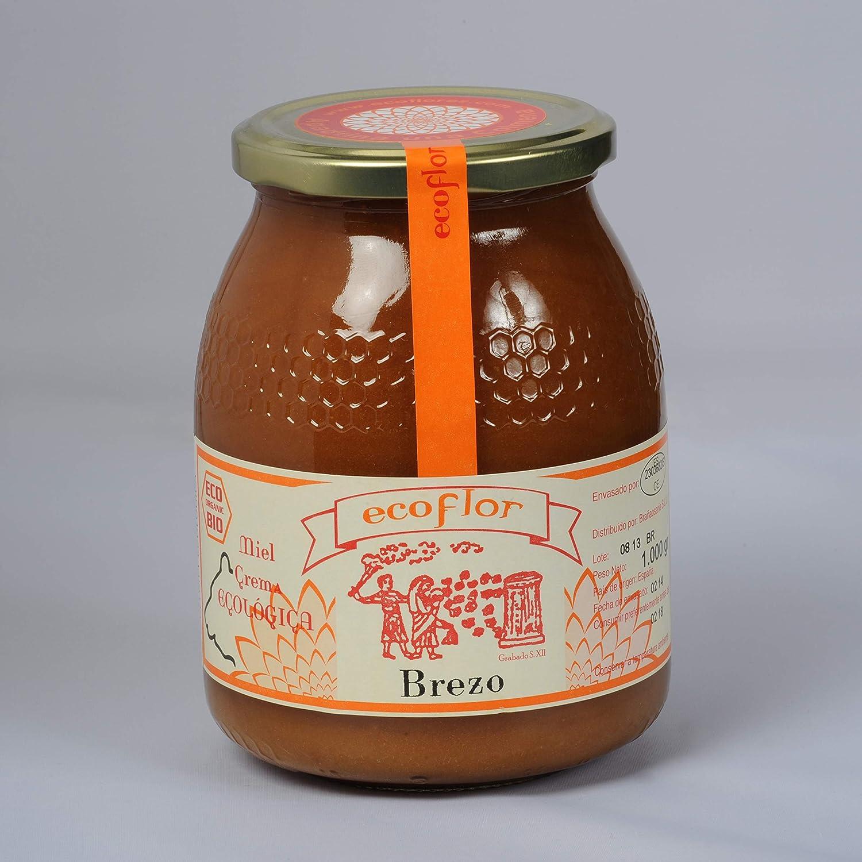 Miel de Brezo Ecoflor Origen 100% Española. (1 Kg): Amazon.es: Alimentación y bebidas