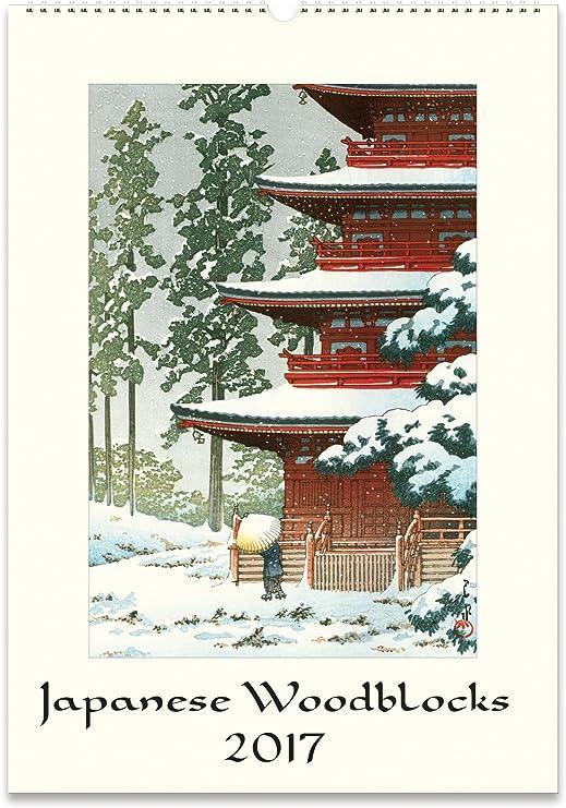 official images premium selection sleek Amazon.com: Cavallini Papers & Co. Cavallini 2017 Japanese ...