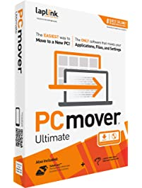 Laplink Software PCmover Ultimate 11 | Moves Your Applications, Files and Settings from an Old PC To a New PC. | Includes...