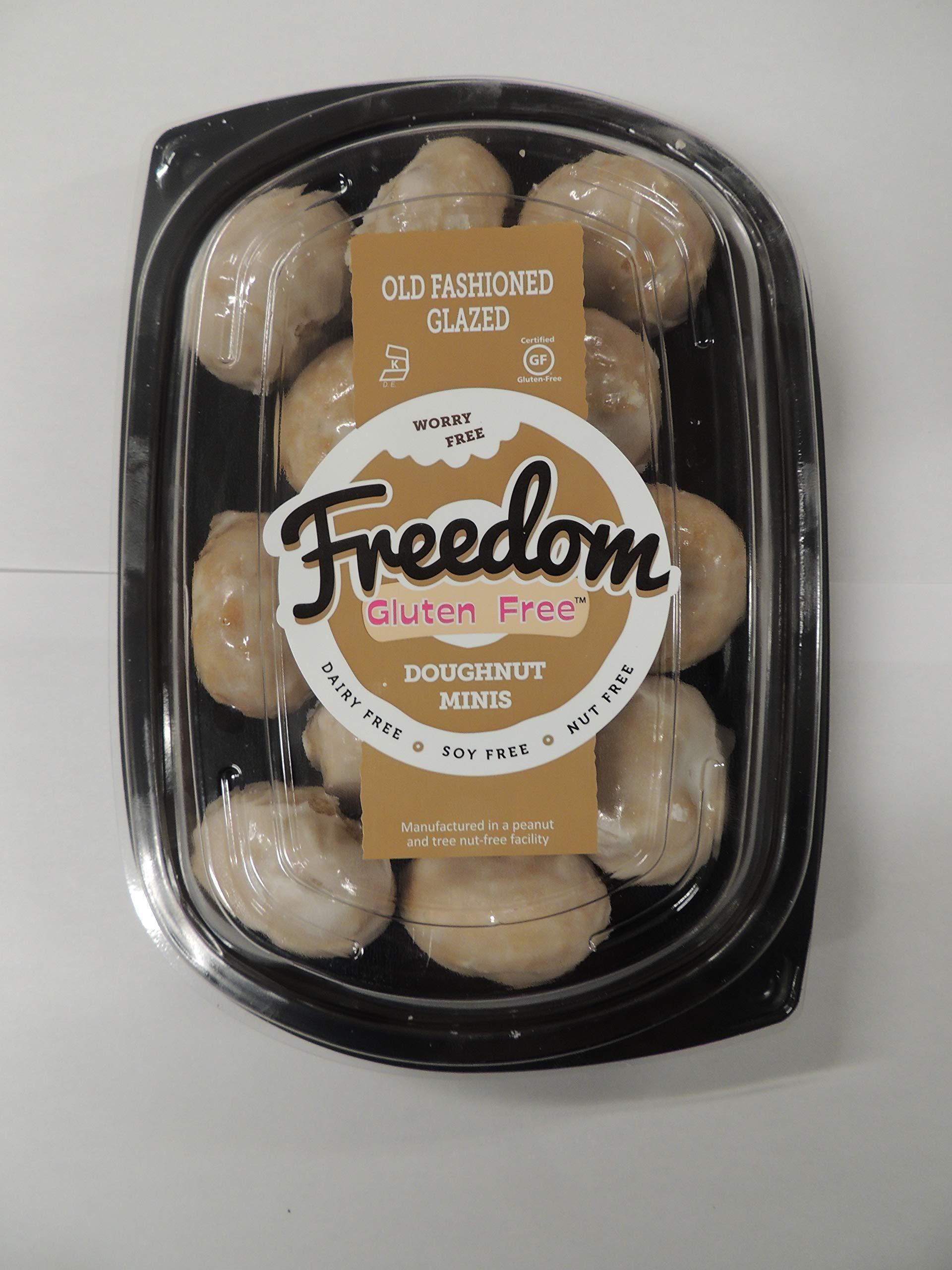Freedom Bakery Gluten Free Doughnut Minis (Doughnut Holes) by Freedom Gluten Free