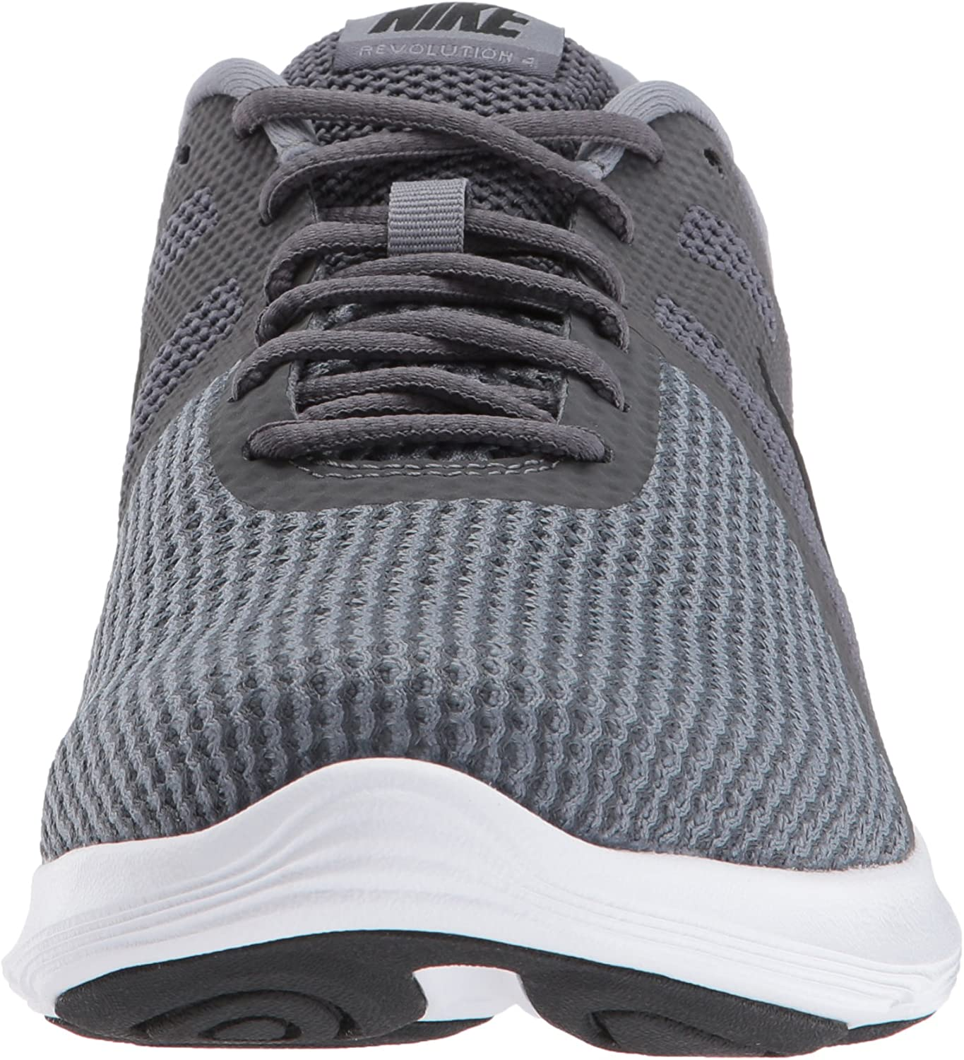 Nike Men s Revolution 4 Running Shoe, Dark Grey Black-Cool Grey White, 15 Regular US