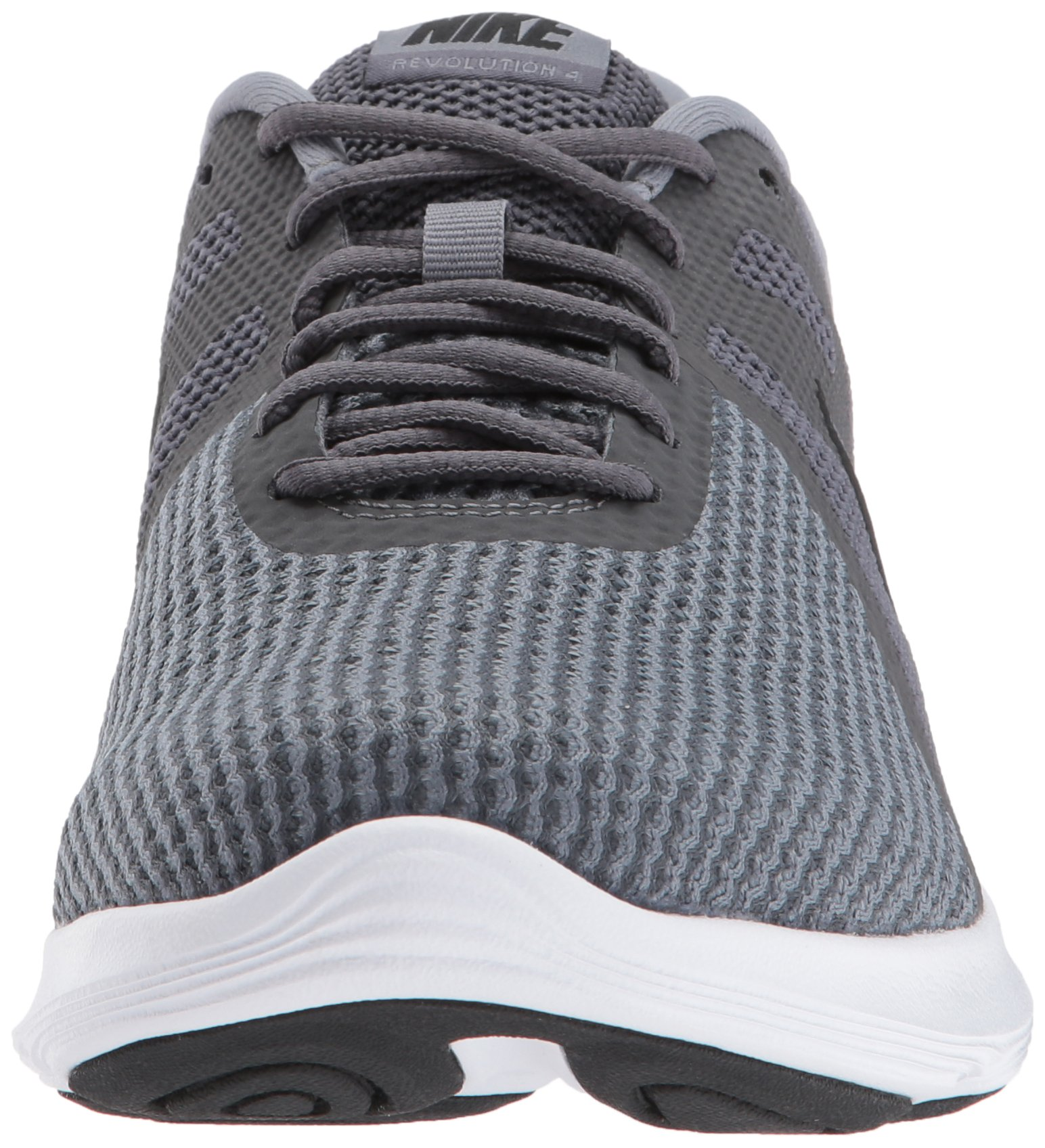 Nike Men's Revolution 4 Running Shoe, Dark Black-Cool Grey/White, 6 Regular US by Nike (Image #4)