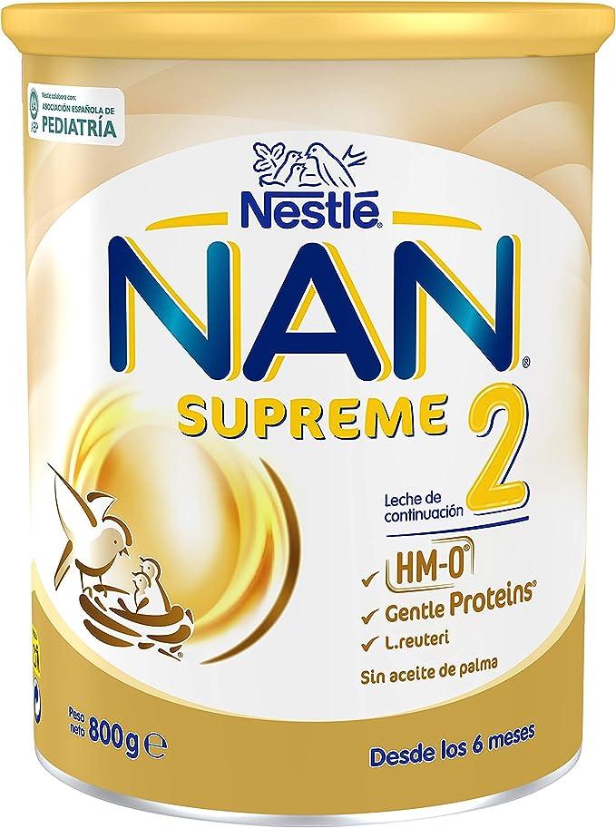 Nan Supreme 2 Leche de Continuación en Polvo Premium ...