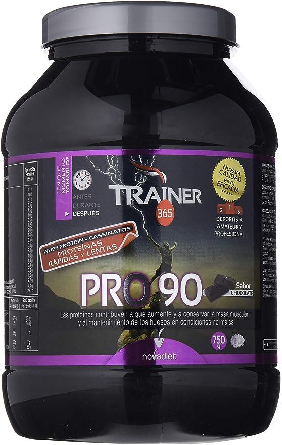 Novadiet Trainer PRO90, Sabor Chocolate - 750 gr