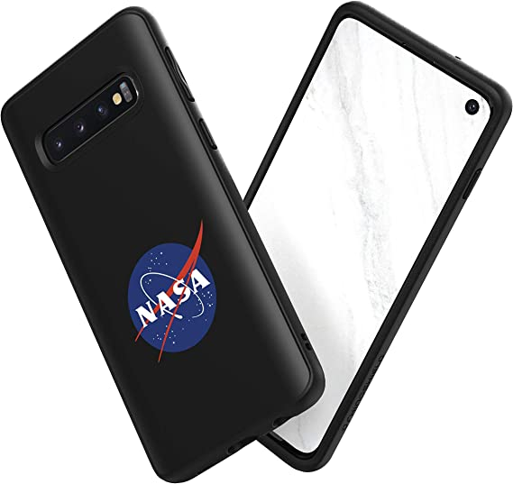 Amazon Com Rhinoshield Case Compatible With Samsung Galaxy S10 Impact Protective Slim Cover Solidsuit Customizable Phone Cover Nasa Approved Prints Meatball Black