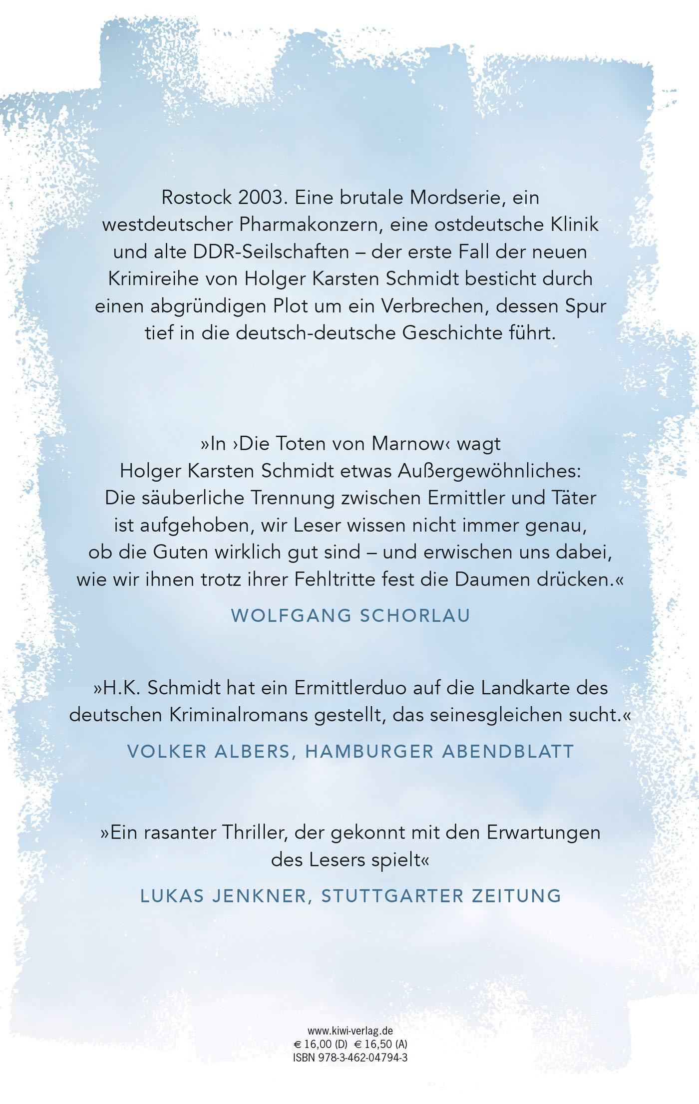 Die Toten Von Marnow Ein Fall Fur Lona Mendt Und Frank Elling Amazon De Schmidt Holger Karsten Bucher