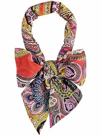 f355cb6ff6829 FRAAS - Echarpe - Imprimé Cachemire - Femme - Orange - Taille unique ...