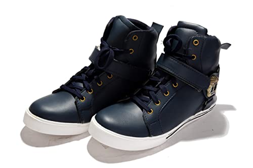 Curewe Kerien Men Fashion Sneakers Street Skateboard Shoes High Top Ankle Boots Casual Walking