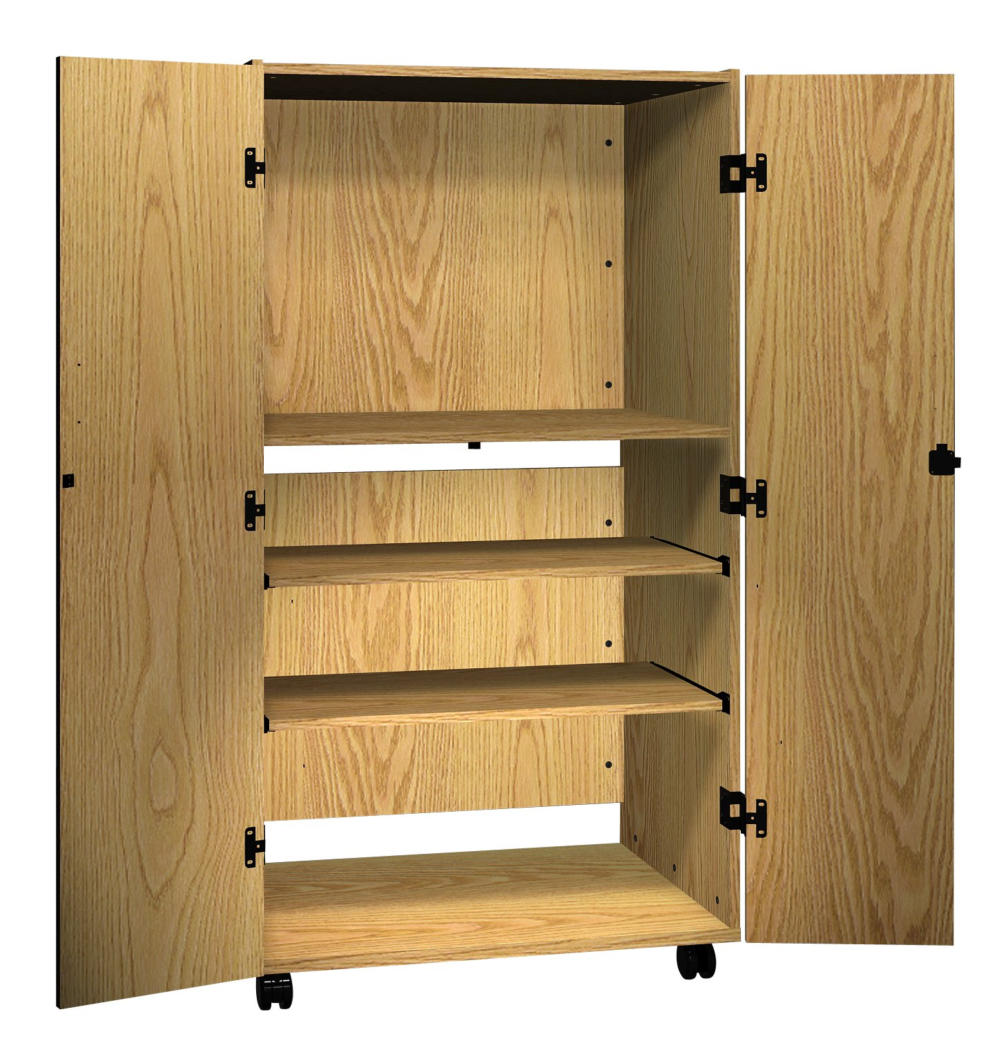 Ironwood Video Cabinet, Natural Oak (VC36NO)
