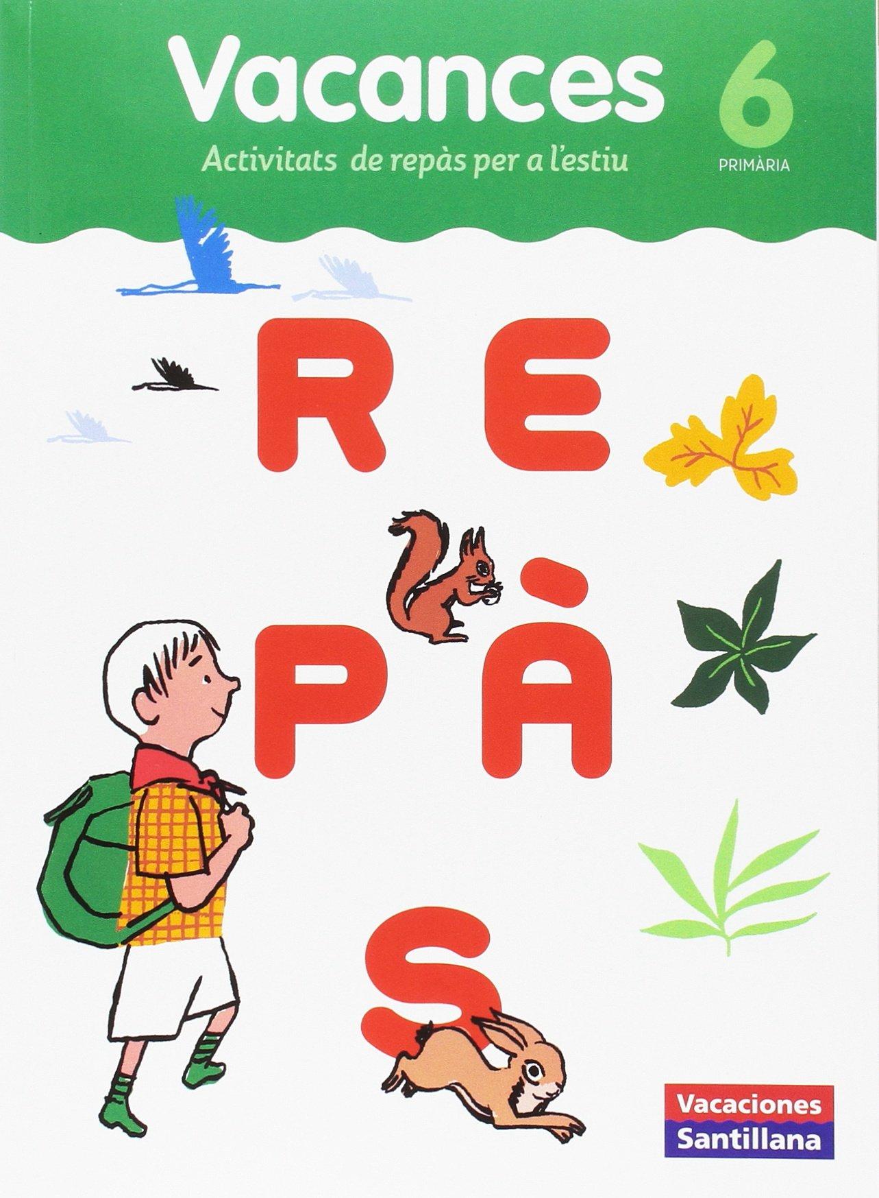 VACACIONES SANTILLANA 6 PRIMARIA REPAS - 9788491311560: Amazon.es: Vv.Aa:  Libros
