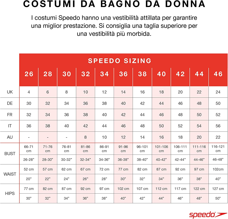 Speedo Contourluxe 1 Piece  Costume da Bagno  Donna