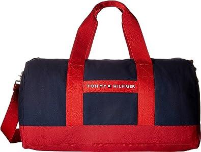 Tommy Hilfiger Canvas Large Duffle Gym Travel Bag