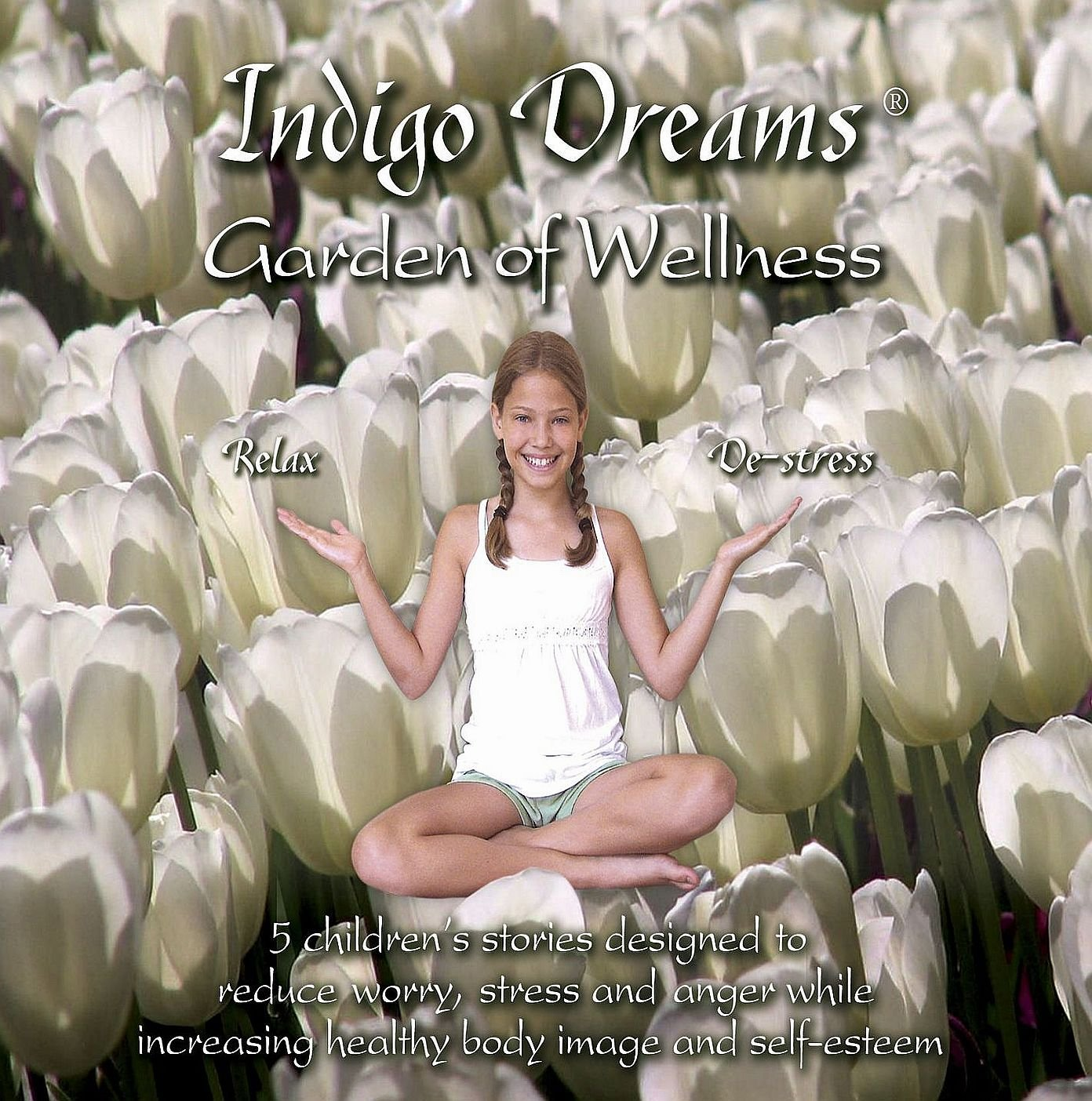 Indigo Dreams: Garden of Wellness Stories And Techniques Designed to Decrease Stress, Anger, Anxiety While Promoting Self-esteem ages 5-10 (Indigo Dreams)