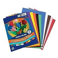 Tru-Ray Construction Paper, 10 Classic Colors, 9