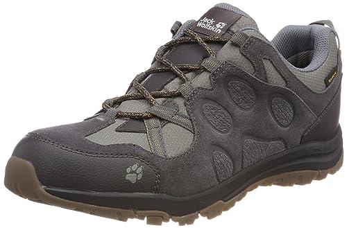 Mens Rocksand Texapore M Wasserdicht Low Rise Hiking Shoes, Flashing Green, 7 UK Jack Wolfskin