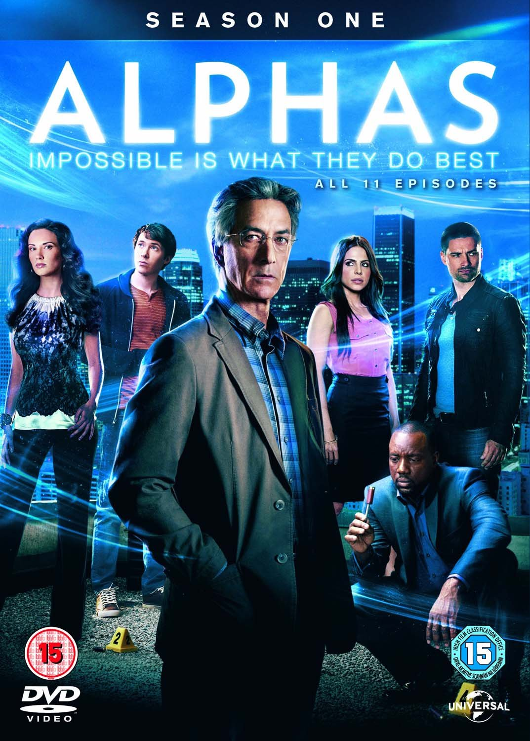 Alphas Season 1 Uk Import Amazonde Dvd Blu Ray