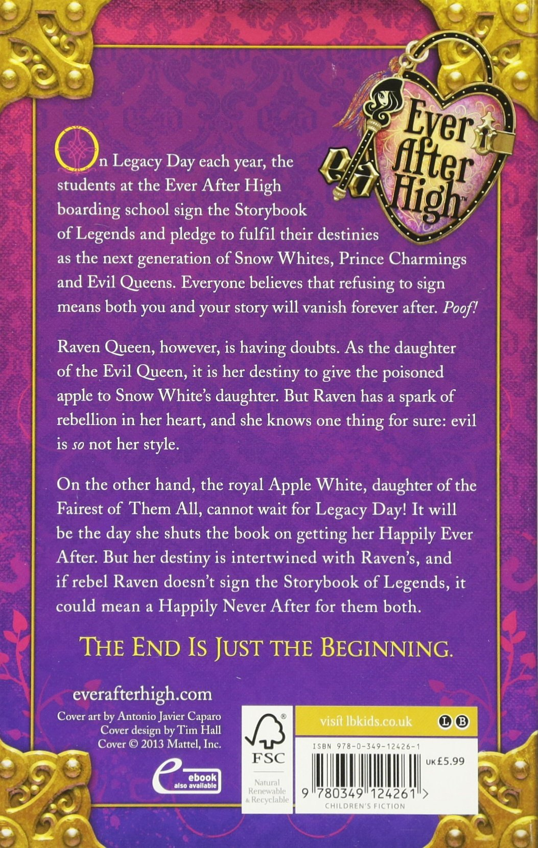 The Storybook Of Legends: Book 1 (ever After High): Amazon: Shannon  Hale: 8601404413193: Books