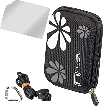 Pedea Hardcase Kameratasche Für Hp Photosmart E317 Kamera