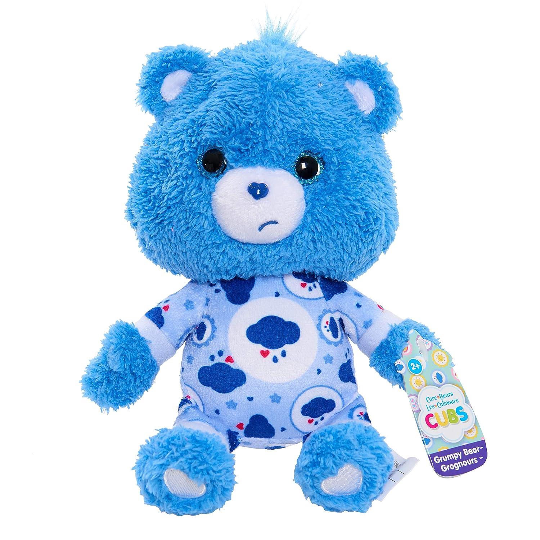 Care Bears Cubs Grumpy Bear 8 inch tall Plush Toy Just Play SG/_B07C67QYYK/_US