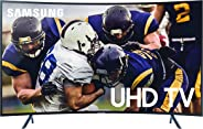 Samsung UN65RU7300FXZA Curved 65-Inch 4K UHD 7 Series Ultra HD Smart TV with HDR and Alexa Compatibility (2019 Model)