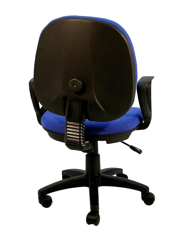 La Silla Española Algeciras Silla de Oficina Reclinable, Poliéster, Azul, 60x60x90 cm: Amazon.es: Hogar