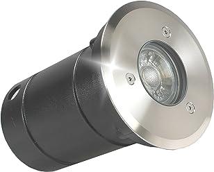 Boden Einbaustrahler LED Wasserdicht Gartenleuchte 1W 3W 5W ANTERRA IP67