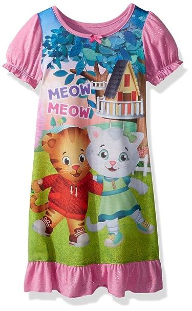 Amazon.com: Daniel Tigre bebé niña con Katerina camisón, 4T ...