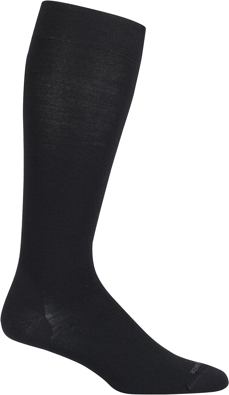 Icebreaker Merino Women's Lifestyle Fine Gauge Ultralight Cushion Over The Calf Socks, Breathable, Odor Resistant, Merino Wool