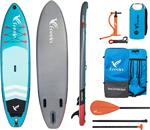 Freein Explorer SUP Inflatable Stand Up Paddle Board ISUP 102/11
