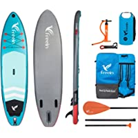 "Freein Explorer SUP Inflatable Stand Up Paddle Board ISUP 10'2''/11"" Long 33"" Wide with Sport Camera Mount Package"