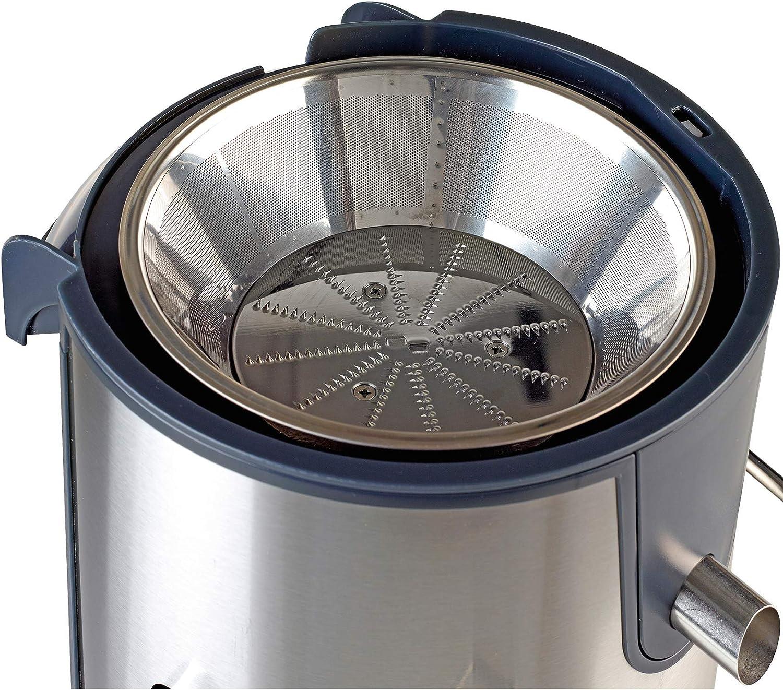 fruta jugo smoothiemaker gris plateado: Amazon.es: Hogar