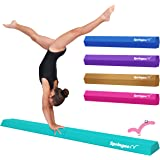 Springee 6ft Balance Beam - Extra Firm - Vinyl Folding Gymnastics Beam for Home